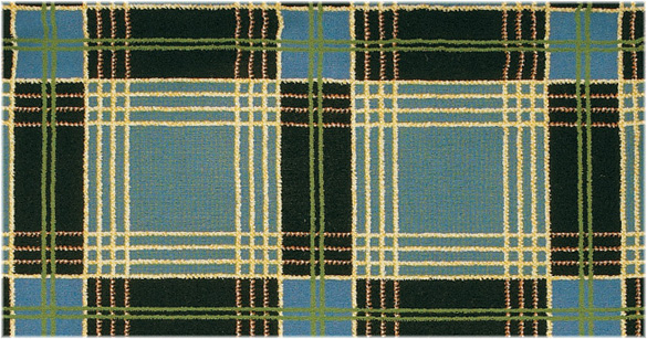 ROYAL TARTAN COLOR: ONYX REGATTA BLUE