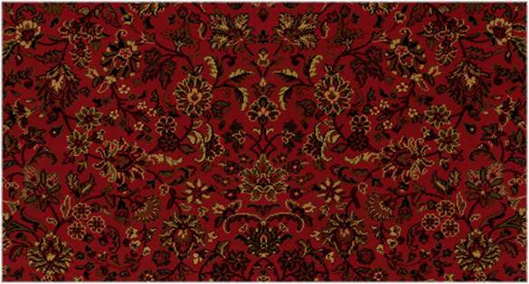 ISFAHAN COLOR: CRIMSON