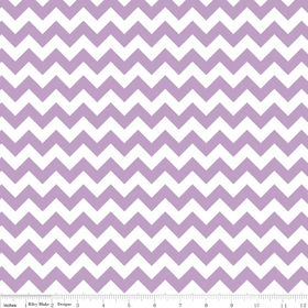 Small Chevron Yardage Lavendar By Riley Blake