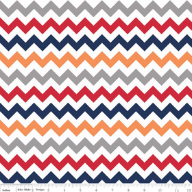 Small Chevron Yardage Boy by Riley Blake
