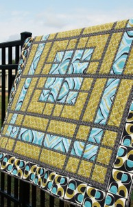 Dance Floor Lap Quilt Pattern by Jaybird Quilts