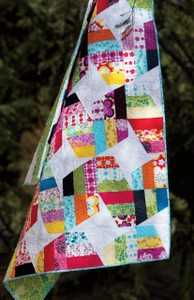 Unwind Quilt Pattern by Julie Herman for Jaybird Quilts SKU# JBQ104
