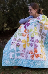 Carnival Quilt Pattern by Julie Herman for Jaybird Quilts SKU# JBQ108