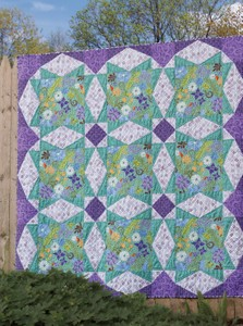 Taffy Quilt Pattern by Julie Herman for Jaybird Quilts SKU# 112