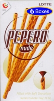 Lotte Pepero Nude Family Pack P