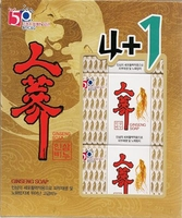 C & G Ginseng Soap Gift Set A
