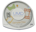 Used PSP Sampler Disc