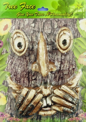 Laughing Scared Tree Face Only At Garden Fun