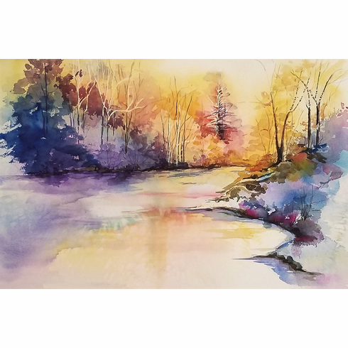 Early Spring at River's Edge - SOLD!