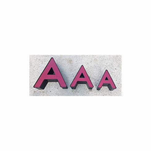 Channel Letter A