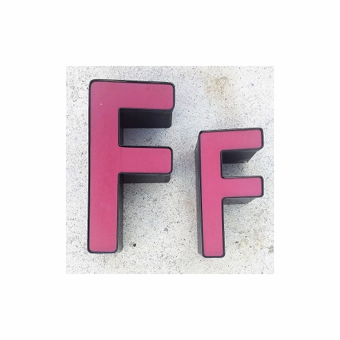 Channel Letter F