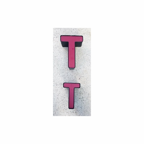 Channel Letter T