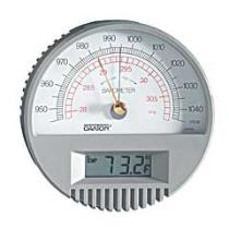 Oakton Wall Mount Barometer with Digital Thermometer - WD-03316-80