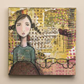 """Grace"" Wall Art  12"" sq-NEW-Has Arrived"
