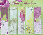 Pagemarkers-125 pagemarker/5designs per package