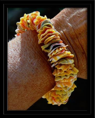 Sunrise Shell Chip Bracelet CUSTOM Made to Order