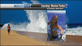 MonicaByTheShore Photography on the TV News