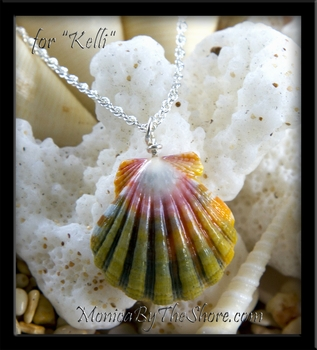 "Custom for ""Kelli"" Hawaiian Rainbow Sunrise Shell Necklace"