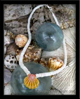 North Shore Puka Shells & Classic Hawaiian Sunrise Shell Necklace