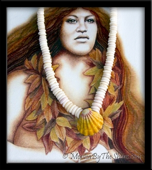Traditional North Shore Puka Shell & Hawaiian Sunrise Shell Necklace