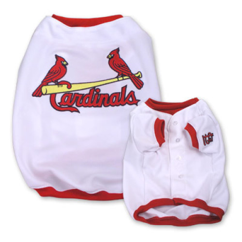 a39a31879f1 St. Louis Cardinals Dog Baseball Jersey - White on sale now!