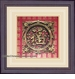 Chinese Wall Decor / Framed Art - Good Fortune Symbol #2