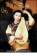 Chinese Oil Painting - Maiden Playing Pipa #43