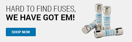 Hard to find Fuses, we've got 'em!
