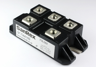SanRex DF75AA160 3-Phase Bridge Rectifier Diode Module