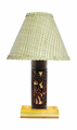 Mostera Leaf Bamboo Lamp