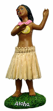 Dashboard Hula Girl - Miniature