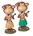 Monkey Bobblehead - Playing Ukulele