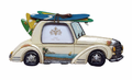 Surf Car Photo Frame