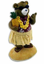 Dashboard Hula Bear - Miniature