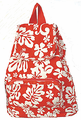 Hawaiian Backpack - Red