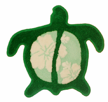 Hawaiian Turtle Rug - Light Green