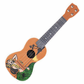 Vintage Hula Girl Smart Ukulele