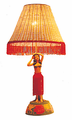 Hula Girl Lamp - Two Hands on Head