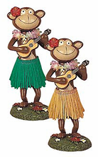 Dashboard Hula Monkey - Ukulele