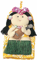 Hula Girl Pot Holders