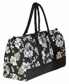 Hawaiian Duffle Bag - Black