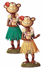 Dashboard Hula Monkey - Dancing