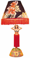 Vintage Hula Girl Lamp