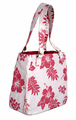 Hawaiian Canvas Handbag - Pink
