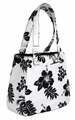 Hawaiian Canvas Handbag - Black