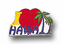 I Heart Hawaii Patch