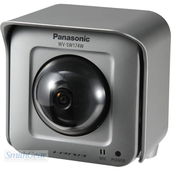 Panasonic WV-SW174W Pan/Tilt HD Outdoor Wireless Network Camera
