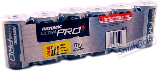 Rayovac Alkaline D Batteries 6-Pack