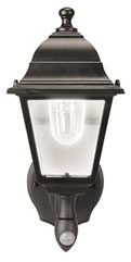 Maxsa Battery-Powered Motion-Sensor Outdoor Wall Sconce
