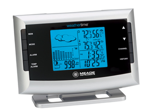 Meade Te653elw M Atomic Weather Station In Gift Box